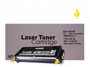 Dell 3110 (593-10168 NF555) Yellow Remanufacured Toner :4000pages
