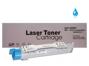 Dell 593-10118 (GD907) Cyan Compatible Toner :8000pages
