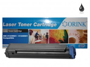 OKI 01239901 /  01240001  (B6200/6250/6300) Black Compatible Toner :5500pages