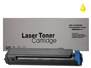 OKI 43324401 Yellow Compatible Toner :5000pages