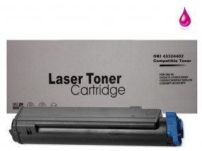 OKI 43324402 Magenta Compatible Toner :5000pages