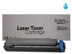 OKI 43324403 Cyan Compatible Toner :5000pages