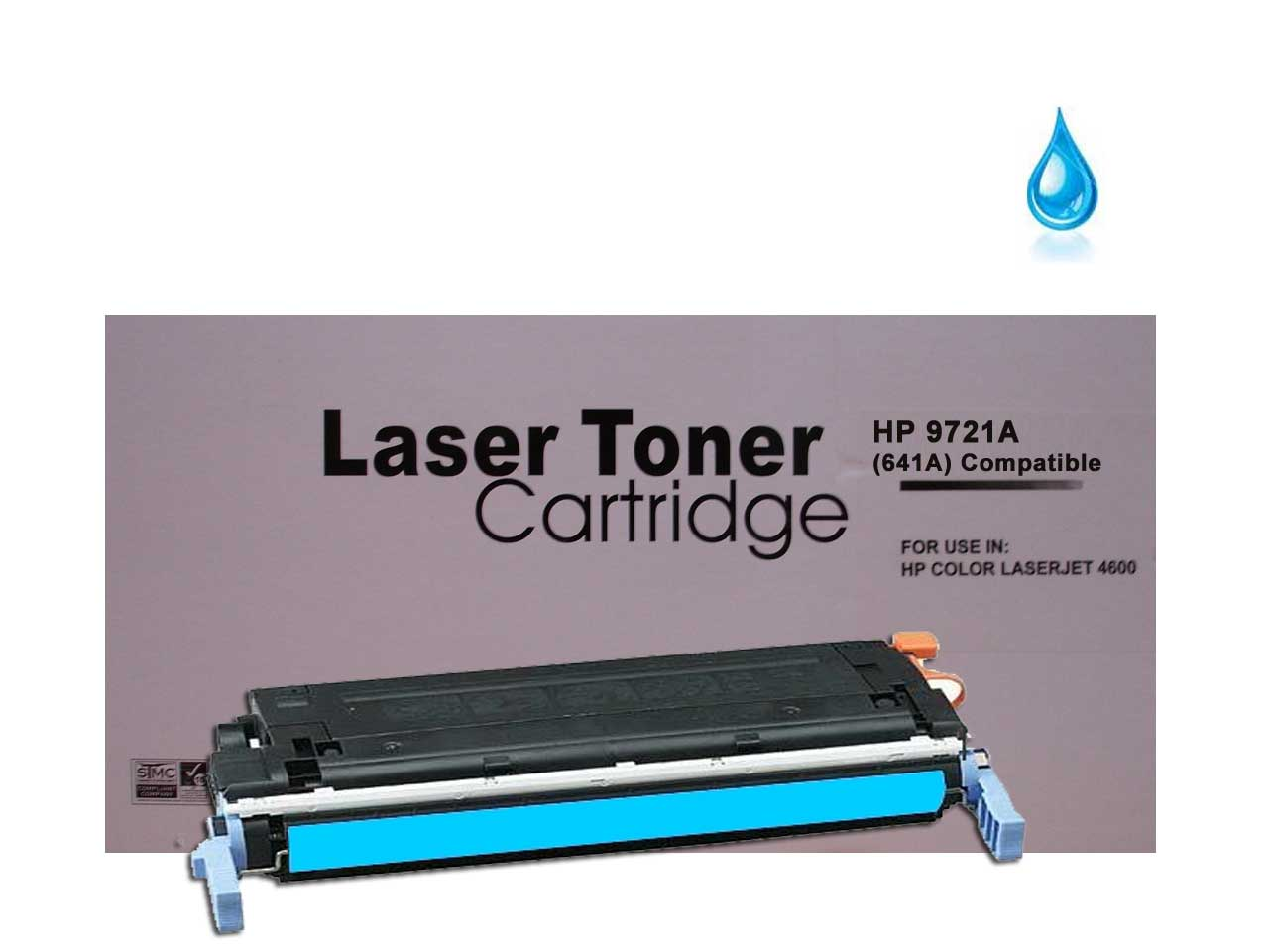 For All Your Ink And Toner Needs Hp C9721a 641a Cyan Clj 4600 4650 Yellow Print Cartridge C9722a Compatible